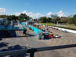 Tomorrowland Speedway is closed while Tron Lightcycle Power Run is under construction