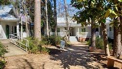 Backside of Visitor Center