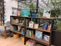 Zona de Lectura para toda la familia.