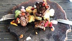 Lamb Rack at Bengawan Restaurant by Chef Rafa Gil