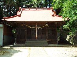 粟津神社の本殿。