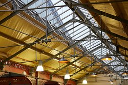 The long roof light that spills light over our unit has stood from 1855