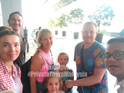 Thank you Mr Wawa and family! This lovely family is from Russia. Kuala Kedah to Kuala Lumpur transfer. #taximpvkl #privatetoursmalaysia