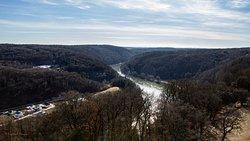 Blick Richtung Donaudurchbruch