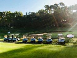 Départ de compétition Golf de Marseille La Salette