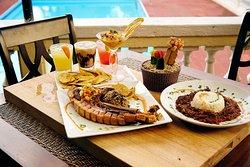 Food and drink on the Veranda!