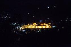 Such a beautiful Punakha Dzong at night!