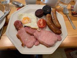 The high protein Irish breakfast.