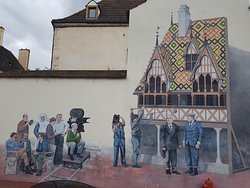 Mural de la Grande Vadrouille