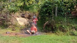 Brindavan water falls, children enjoyed. We love this place. Whenever, plan to trip hill station, pls, Choose this homestay.