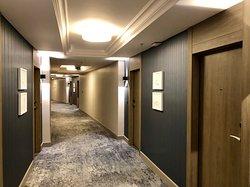 Bedroom corridors