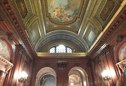 Inner sanctum of the NY Public Library