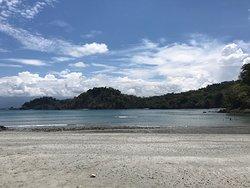 Playa Biesanz at low tide