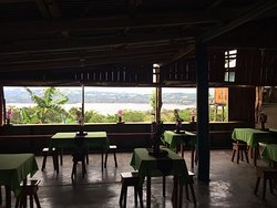 Dining Room at El Mirador...  The view is amazing!