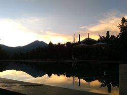 Sunrise view from Atres Sari Resort