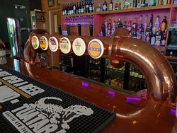 Great selection of Beer on Tap also.