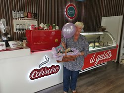 """The winner of our """"name our shop"""" competition- Marilyn"""