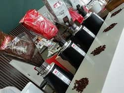 We have 4 different blends of yummy Carraro Coffee to choose from..