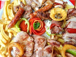 Mix meat