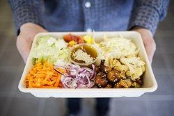 Självklart finns våra luncher, och allt  annat på vår meny, som Takeaway!