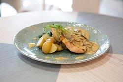 Tarragon Mushroom Chicken