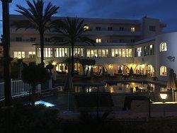 Hôtel le soir