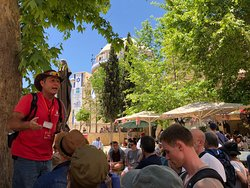 Fine and diverting tour with Yariv