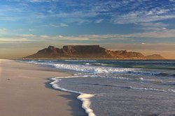 Table Mountain one of the 7 natural wonders of the World