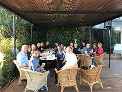 Congreso Microfocus una parada durante el tour en Cappuccino café Marbella