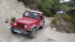 Jeep Safari Castell de Castell - Benidorm Costa Blanca Spain - 4x4 Jeep Experience