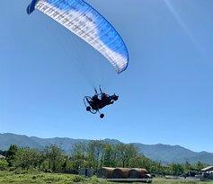 Полёт на параплане в Батуми