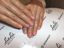 Manicure in the beauty salon LaLi