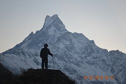 mardi himal  base camp  4500m trekking