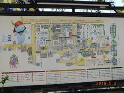 【四番町スクエア】内の【ひこね街なかプラザ】の1階にあり、周囲に[井伊の赤備え]が展示されています