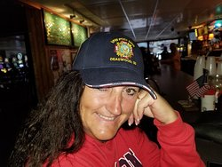 Wife at the VFW , not far from here