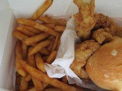6 chicken finger dinner