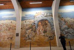 Фреска левой стены