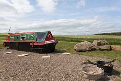 Moonraker the smaller of out two narrow boats