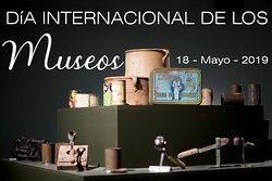 Con motivo de la celebración del Día Internacional de los Museos este sábado 18 de mayo, con cada entrada a cada persona que venga a ver el museo, se le obsequiará con un detalle especial (nuestros horarios/tarifas no variarán) ¡Os esperamos! #museos #diainternacionaldelosmuseos