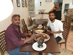 I'm very happy with the delicious food in this Ethiopian Restaurant, I really enjoyed the Shekla Tebes, which was served while the fire is still in it. Tasty and very fresh