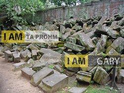 The Fallen Stone of Ta Prohm Temple