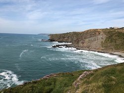 Maer Cliff, Bude - South West Coast Path walk