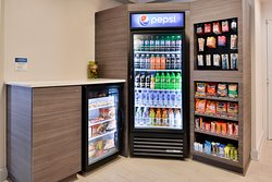 Enjoy a Snack or Drink from our Suite Shop located in the Hotel Lobby
