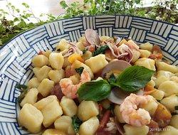 homemade fresh gnocchi pasta