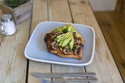The Secret Garden (Avocados & Mushrooms on toast)
