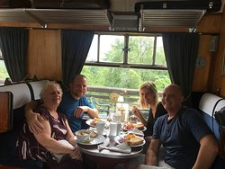 Image Glenfinnan Station Museum Dining Car in Highlands and Islands