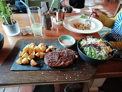 THE FOOD WAS GREAT!