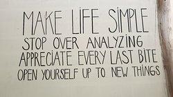 Make life easy...and yummy!