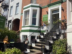 Leeway B & B, welcoming respite from tourist crowds of Whitby on a warm Easter weekend