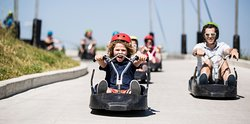 Downhill Karting at Skyline Luge Calgary